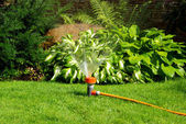 Watering sprinkler — Stock Photo