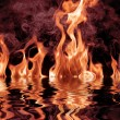 Fire flames — Stockfoto #1249869