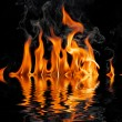 Fire flames — Foto de stock #1249888