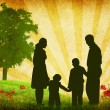 Stock Photo: Family vector