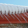 Stock Photo: Big icicles
