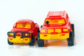 Two toy cars — Foto Stock