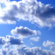 Cloudy skies — Stockfoto