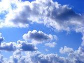 多云的天空 — 图库照片