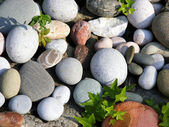 The composition of the stones — Foto de Stock