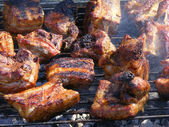 Meat barbeque — Stock Photo