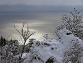 Winter Seascape — Foto de Stock