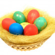 Royalty-Free Stock Photo: Colored eggs