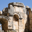 Ruin of ancient amphitheatre in Myra — Stockfoto