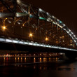 Bolsheokhtinsky bridge — Stock Photo