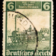 Vintage postage stamp — Stock Photo