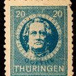 Stock Photo: Vintage Germpostage stamp