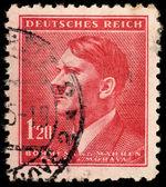 Vintage postage stamp — Stock Photo