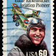 Vintage US Airmail stamp — Stock Photo #1096682
