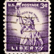 Vintage US postage stamp — Stock Photo #1096688