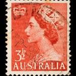 Vintage Australian postage stamp — Stock Photo #1096706