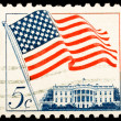 Royalty-Free Stock Photo: Vintage US postage stamp