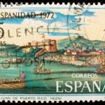 Spanish vintage postage stamp — Stock Photo #1106422
