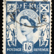 Vintage UK postage stamp — Stock Photo #1107419