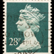 ストック写真: Vintage UK postage stamp