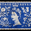 图库照片: Vintage UK postage stamp