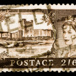 Royalty-Free Stock Photo: Vintage UK postage stamp