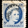 Vintage Canadipostage stamp — Stock Photo #1138463