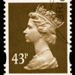 Queen Elizabeth II Postage Stamp — Stock Photo #1138767