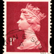 Queen Elizabeth II Postage Stamp — Stock Photo #1138829