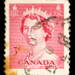 Vintage Canadian postage stamp — Stock Photo