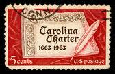 Ročník nás poštovní známka — Stock fotografie