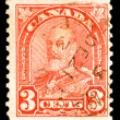 Stock Photo: Vintage CanadiPostage Stamp