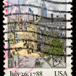 Vintage US postage stamp — Stock Photo #1142350
