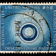 UNITED NATIONS Postage Stamp — Stock Photo #1142401