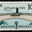 Vintage German postage stamp — Stock Photo