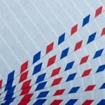 Airmail letter envelope — Stock Photo