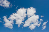 Clouds on the sky — Stock Photo