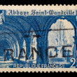 Vintage French postage stamp — Stock Photo #1174020