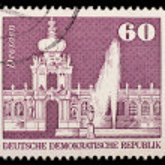 Vintage German postage stamp — Stock Photo #1174103