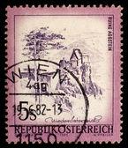 Vintage Austrian postage stamp — Stock Photo