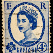 Queen Elizabeth II Postage Stamp — Stock Photo #1183737