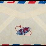 Vintage Airmail letter envelope — Stock Photo