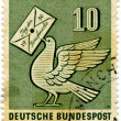 Stock Photo: Vintage German postage stamp