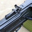 Stock Photo: RussiArmy machine gun closeup