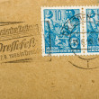 Vintage German postage stamp — Stock Photo #1225581