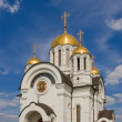 Russian orthodox church — Stock Photo #1256912