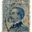 Stockfoto: Old Italipostage stamp