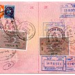 Passport stamps — Stock Photo #1271047