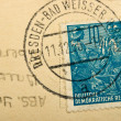 Old Germany postage stamps — Stock Photo