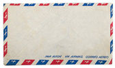 Vintage airmail envelope — Foto Stock
